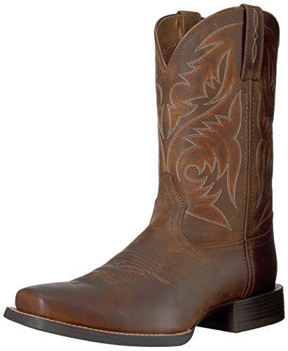 Ariat Stiefel Sport Herdsman 18702 Brown/Herren Westernreitstiefel Braun/Westernstiefel/ Riding Boots, Groesse:45 (10.5 UK)