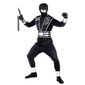 WIDMANN 00118 - Disfraz de niño para niño, color negro