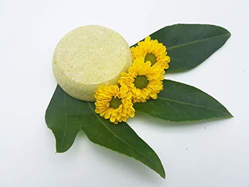Shampoo Bar Green Tea - bei schnell nachfettendem Haar und trockenen Spitzen, vegan, festes Shampoo von kleine Auszeit Manufaktur -