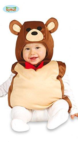 Kostüm Baby Bär Gr. 62/68 Teddybär Overall Bärenksotüm Kinderfasching Teddy Tier (Kostüme Für Teddy Bär Babys)