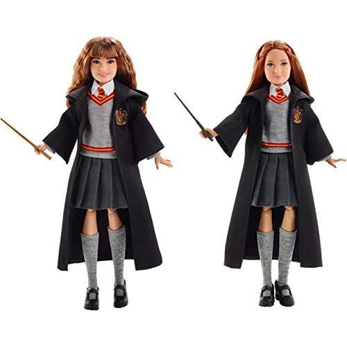 Kostüm Voldemort Lord Besten - Mattel FYM51 - Harry Potter Hermine Granger Puppe &  FYM53 - Harry Potter Ginny Weasley Puppe