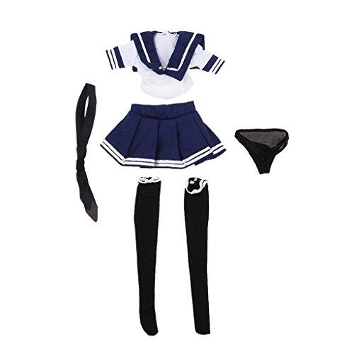 Seemann Uniform - Sharplace 1/6 Maßstab Mädchen Seemann Uniform