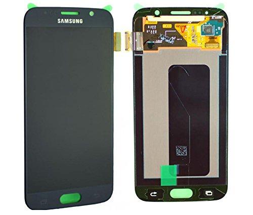 Original Samsung Galaxy S6 SM G920F LCD AMOLED Display Touchscreen Digitizer Onyx Schwarz Service Ersatzteil Einheit OCTA GH97-17260A