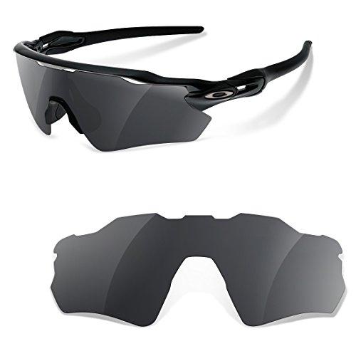sunglasses restorer Polarisierte Ersatzgläser Black Iridium für Oakley Radar Path EV
