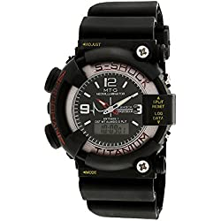 Fabiano New York Black Mens & Boys Sport Analog Digital Wrist Watch