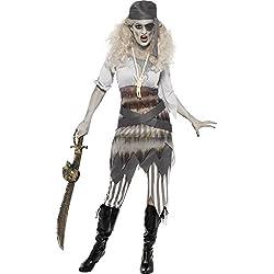 Smiffy's - Disfraz de fantasma para mujer, talla M (24363M)