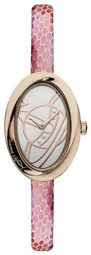 Vivienne Westwood VV098RSPK - Orologio da polso, donna, pelle, colore: rosa