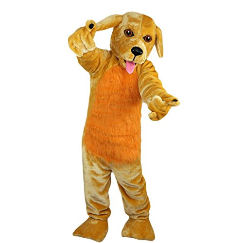 Maskottchen Kaninchen Kostüm - Langteng gelb braun Kaninchen Cartoon Maskottchen Kostüm Echt Bild 15-20Tage Marke