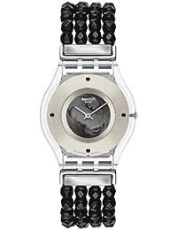 Swatch Damen-Armbanduhr Analog Plastik SFZ116A