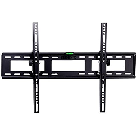 Duronic TVB123M Heavy Duty Adjustable Wall Bracket for 33-60 inch Plasma/LCD/LED Screen - Black