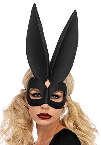 Leg Avenue A2164 - Bad Bunny Eye Mask, Einheitsgröße (Schwarz)