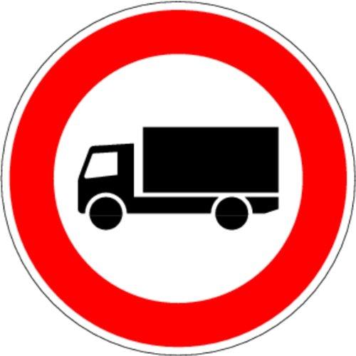 LEMAX® Schild Alu Verbot für Kraftfahrzeuge über 3,5t Verkehrszeichen 253 420mm refl.