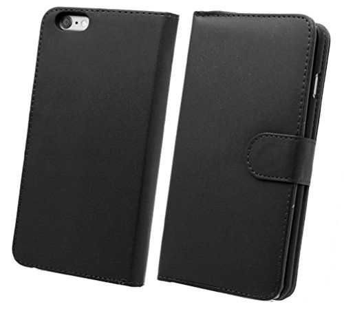 NWNK13� iPhone 3G / 3GS High Quality Book / Wallet / Side Open Case / Card Slots with Screen Film & Touch Pen (Black Wallet)