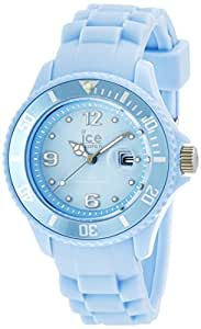 ICE-Watch - Ice-Sweety - Bubble - Small - Montre Mixte Quartz Analogique - Cadran Bleu - Bracelet Silicone Bleu - SY.BB.S.S.14