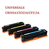 Toner compatibile Hp cb540a colorlaserjet cp1215 colorlaserjet cp1515 colorlaserjet cp1518 c - Magenta - 1400 pagine - cb543a 323a cf213a