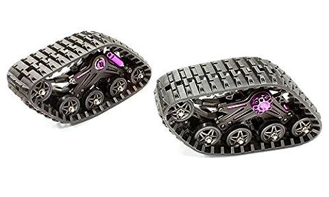 Integy RC Model Hop-ups C25306PURPLE T2 Snowmobile & Sandmobile Kit