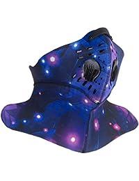 38924cde96dc9 Máscara Deportiva anticontaminación Cebbay Protección contra Niebla tóxica  y Polen ActividadesRecreativas al Aire Libre y Otros Deportes…