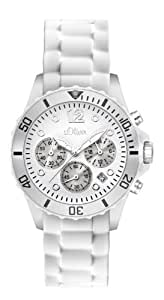 s.Oliver Damen-Armbanduhr Chronograph Quarz SO-2141-PC
