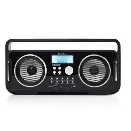 AudioSonic RD 1556 Rockblaster Radio schwarz