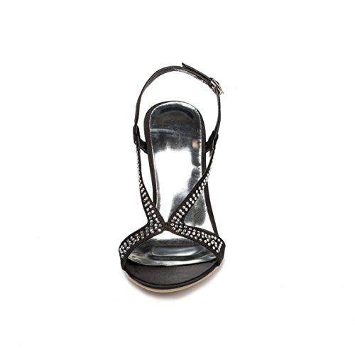 Kevin Fashion , Chaussures de mariage tendance femme Noir - noir