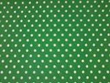 Grün Weiß Dotted Tischdecke/Wachstuch aus Vinyl/PVC,