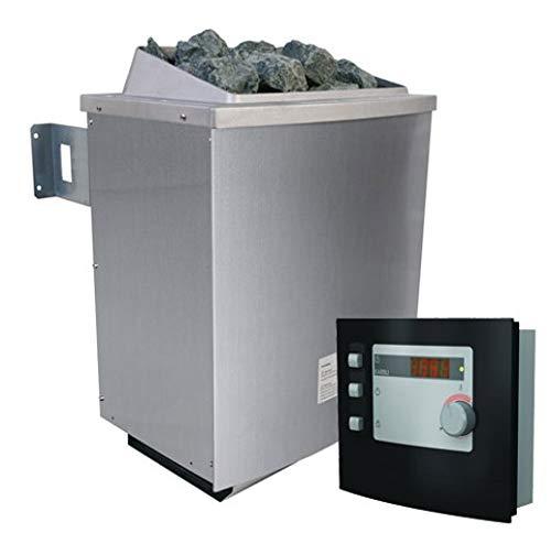 Unbekannt Karibu 9 kW Saunaofen inkl. Steuergerät Modern - Sparset