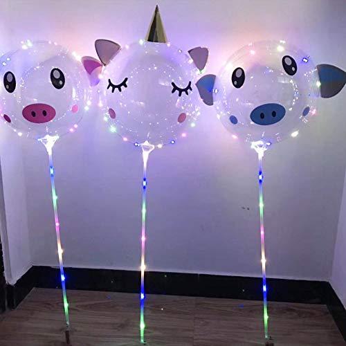 hter, LED-Licht-Ballone, Die Bunt Blinken, Oder Geburtstags-Hochzeits-Weihnachtsvorschlag-Partei Dekorativ, Füllbar Mit Helium, Beste Nachtpartyversorgungen ()