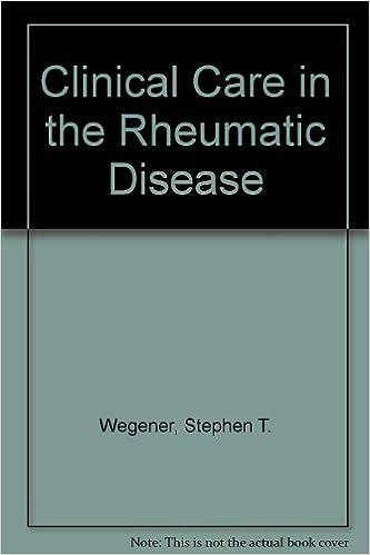 Clinical Care in the Rheumatic Disease
