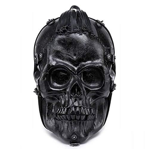 YT-ER Reiserucksack mit Großem Fassungsvermögen Personalisierte Tasche Halloween-Must-Have, Schwarz
