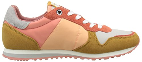 Pepe Jeans Damen Verona W Colors Sneakers Mehrfarbig (Light Sunset)