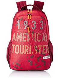 American Tourister Dune 29 Ltrs Red Casual Backpack (Fi1 (0) 00 001)