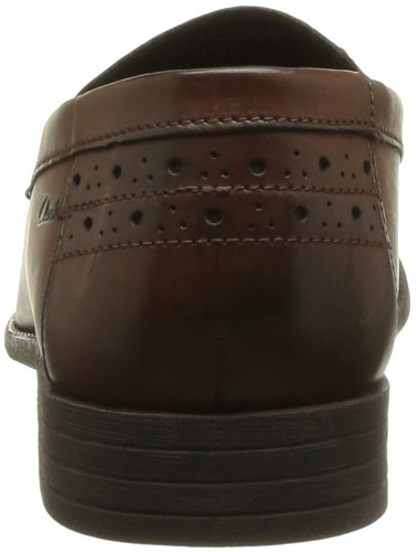 Clarks Chart Lift, Chaussures basses homme Marron (Brown Leather)
