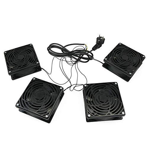Cablematic-Los Ventiladores De Techo para Armario Rack 19