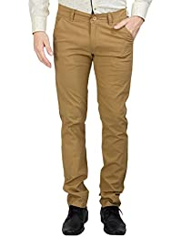 Bloos Jeans Men's Slim Fit Casual Trouser