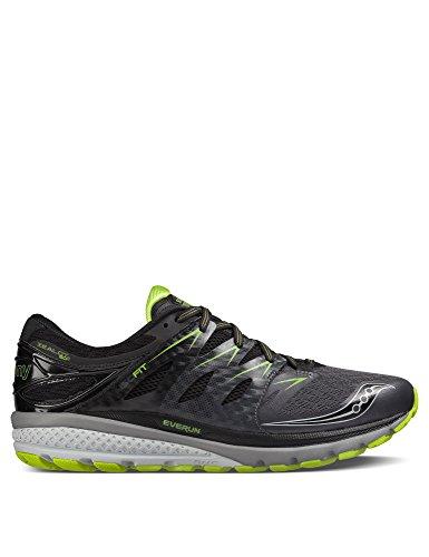 Saucony Zealot Iso 2, Calzado De Running Para Hombre, Gris