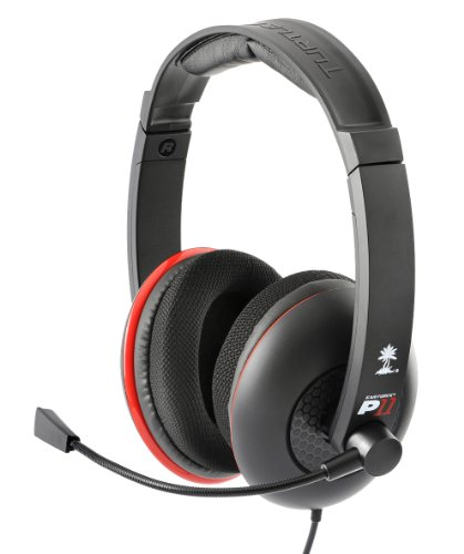 Beach-lautsprecher (Turtle Beach Ear Force P11 Gaming Headset (Schwarz) [PS3])