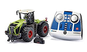 SIKU 6794 Claas Xerion 5000 TRAC VC - Tractor teledirigido con Bluetooth y Control por aplicación, el Color Puede Variar de la Imagen