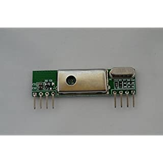 433Mhz Shielded Low-Noise Super-Heterodyne Wireless Receiver Board for Raspberry Pi / Arduino. Reverse-engineer wireless remote control signals using your Pi.