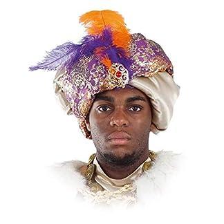 DISBACANAL Turbante de Rey árabe