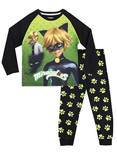 Miraculous Pijamas Manga Larga niños Cat Noir Multicolor