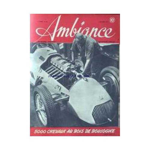 AMBIANCE [No 38] du 05/09/1945 - 5000 CHEVAUX AU BOIS DE BOULOGNE - TRUCS ET BLAGUES DE CLOWNS DANS LA COHUE DU METRO - LETTRE AEROPORTE.