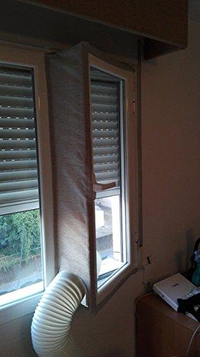 JOYOOO para aparatos de aire acondicionado portátiles Cubierta de ventana AirLock  Pantalla para evitar la entrada de aire caliente accesorio de sistema de aire acondicionado