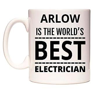 ARLOW Is The World's BEST Electrician Becher von WeDoMugs