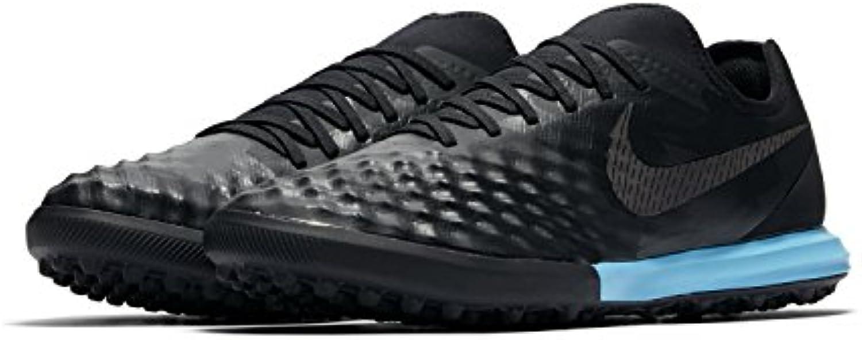 Nike - Botas de fútbol de Material Sintético para hombre Negro RED PLUM/WINDCHILL-VOLT-BL