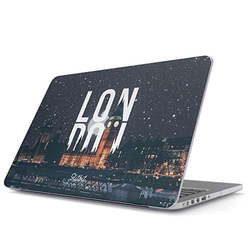 Glitbit Hülle Kompatibel für MacBook Pro 15 Zoll aus den Jahren 2012-2015, Modell: A1398 Retina Display London Big Ben Great Britain United Kingdom England Travel Explore Wanderlust Plastik Case (15 Pro Zoll Macbook Case Travel)