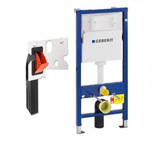 Geberit 458103001 Montage-Element Duofix Basic für Wand-WC, mit Spülkasten UP100 112 cm mit Einwurfschacht