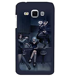 PRINTVISA Party Girls Case Cover for Samsung Galaxy J3