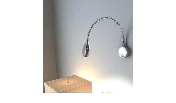 Bett zimmer licht led schlauch light leselampe lampe aluminium