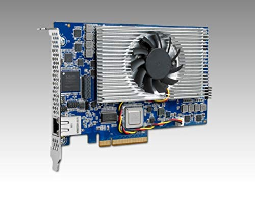 (DMC Taiwan) Half-Length PCI Express Card with 4 TMS320C6678 DSPs Single-channel-modul Video