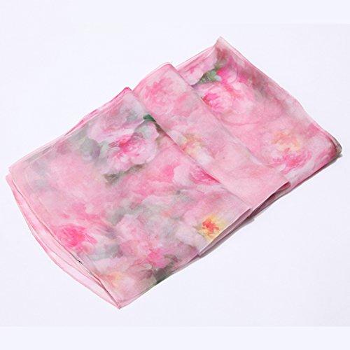 Schals ZLR Seidenschals Herbst und Winter Damen Vielzahl große Handtuch Sonnencreme klimatisierte Zimmer Handtücher (Farbe : F)
